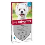 Advantix antiparassitario Spot On per cani da 4kg a 10kg 4 fialette