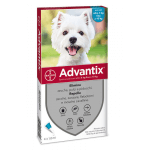 Advantix antiparassitario Spot On per cani da 4 a 10 kg 4 fialette