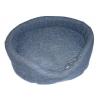 Cesta imbottita con cuscino sfoderabile cm 80x60 h24 blu coste tg.6