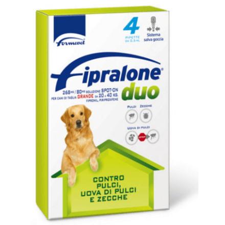 Fipralone Duo Antiparassitario spot-on per cani da 20 a 40 kg