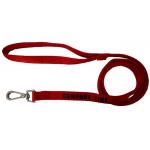 Guinzaglio comfort in nylon imbottito mm 20 x 1,2 m ROSSO
