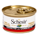 Tonnetto e gamberetti in gelatina 85g