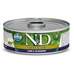 N&D Prime, Agnello e Mirtillo umido gatto 80g