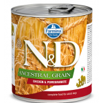 N&D Ancestral Pollo e Melograno umido cane 285 g