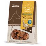 Croccantino snack monoproteico per cani 100% fesa e coscia di tacchino 80g