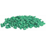 Fluo gravel, ghiaietta verde 350g per acquari e bocce