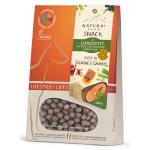 Longevity mini snack funzionale con salmone, gamberi e aloe vera 125g